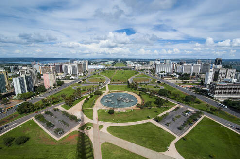 View from the Television Tower over Brasilia, Brazil - RUNF02848