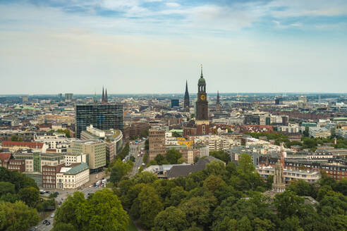 Cityscape, Hamburg, Germany - TAMF01629