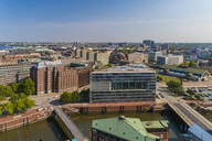 Cityscape with Hafencity and Der Spiegel building, Hamburg, Germany - TAM01644