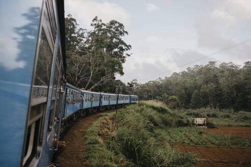 Zug von Ella nach Kandy, Sri Lanka, Zentralprovinz - LHPF00739