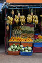 Fresh fruit in Indian vegetable market - BLEF08421