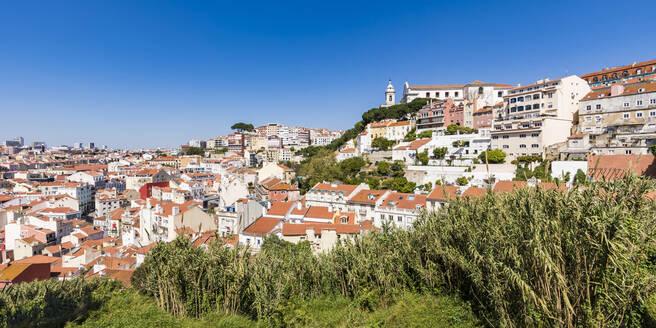 Portugal, Lissabon, Stadtansicht, Altstadt, Stadtviertel Graca - WDF05289