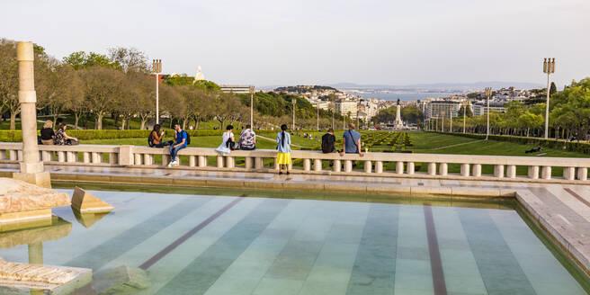 Portugal, Lissabon, Stadtzentrum, Innenstadt, Parque Eduardo VII, Park - WD05307