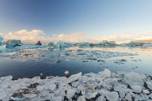 Iceland, South Iceland,Jokulsarlon glacial lake - TAMF01736