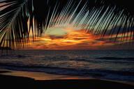 Idyllic, scenic sunset sky over tranquil ocean, Sayulita, Nayarit, Mexico - FSIF04274