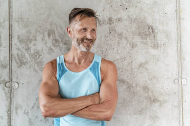 Portrait of a sporty confident man - DIGF07543