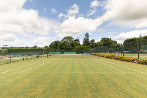 UK, Limpsfield, tennis court in a tennis club just near London - WPEF01621