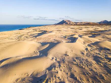 Aerial view of semidesert in Fuerteventura - SIPF02043