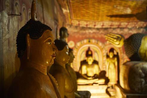 Cave temple, Dambulla, Sri Lanka - CVF01336