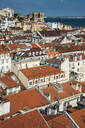 Aerial view of Lisbon cityscape in Portugal - RUNF02875