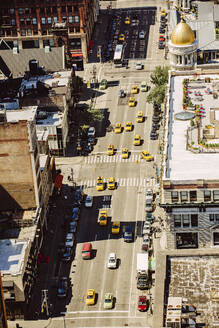 Aerial view of New York street, New York, United States - BLEF12876