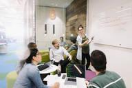 Compute programmers meeting in creative office - HEROF37899