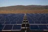 Solar panels in remote landscape - BLEF13101