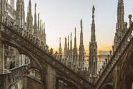 Milan Cathedral at sunset, Italy - TAM01975