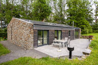 Detached house with solar panels on the roof - FMKF05812