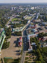 Aerial view of Sergiev Posad town, Moscow, Russia - KNTF03032