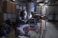 Welder at work - CVF01457