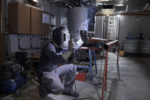 Welder at work - CVF01457