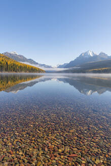 Bowman Lake, Glacier National Park, Montana, United States of America, North America - RHPLF00207