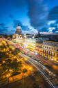 The Gran Teatro de La Habana and El Capitolio at dusk, Havana, Cuba, West Indies, Caribbean, Central America - RHPLF00324
