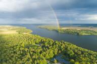 Lake Malaren near Wik Castle, in Uppsala County, Sweden, Scandinavia, Europe - RHPLF00345