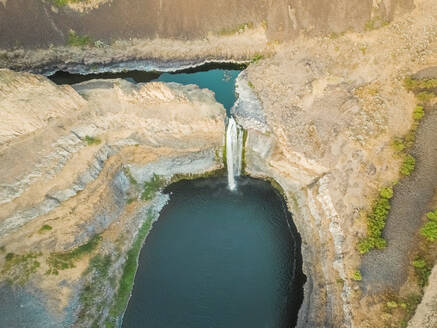 Aerial view of Palouse Falls in Washington, USA - AAEF03008