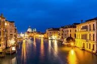 Grand Canal and Basilica Santa Maria della Salute, Venice, UNESCO World Heritage Site, Veneto, Italy, Europe - RHPLF00650