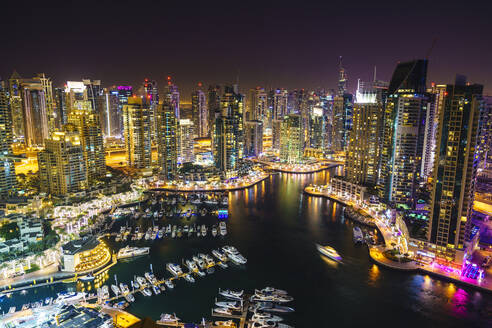 Dubai Marina, Dubai, United Arab Emirates, Middle East - RHPLF01472
