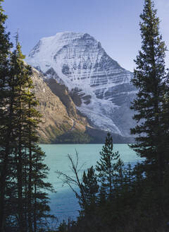 Mount Robson, UNESCO World Heritage Site, Canadian Rockies, British Columbia, Canada, North America - RHPLF01932