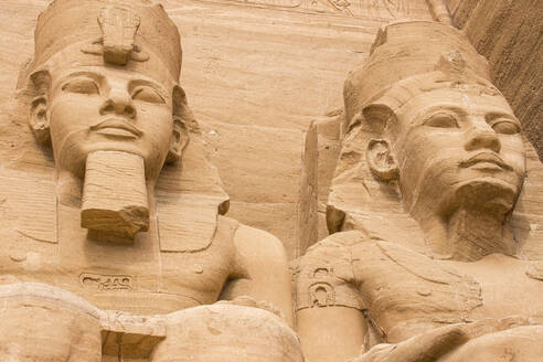 The Great Temple (Temple of Ramses II), Abu Simbel, UNESCO World Heritage Site, Egypt, North Africa, Africa - RHPLF02019