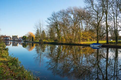 The Causeway, Godmanchester village, Cambridgeshire, England, United Kingdom, Europe - RHPLF02940