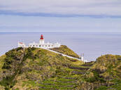 Lighthouse on Ponta do Castelo, Santa Maria Island, Azores, Portugal, Atlantic, Europe - RHPLF03102