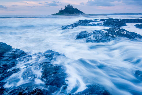 St. Michael's Mount, Marazion, Cornwall, England, United Kingdom, Europe - RHPLF04452