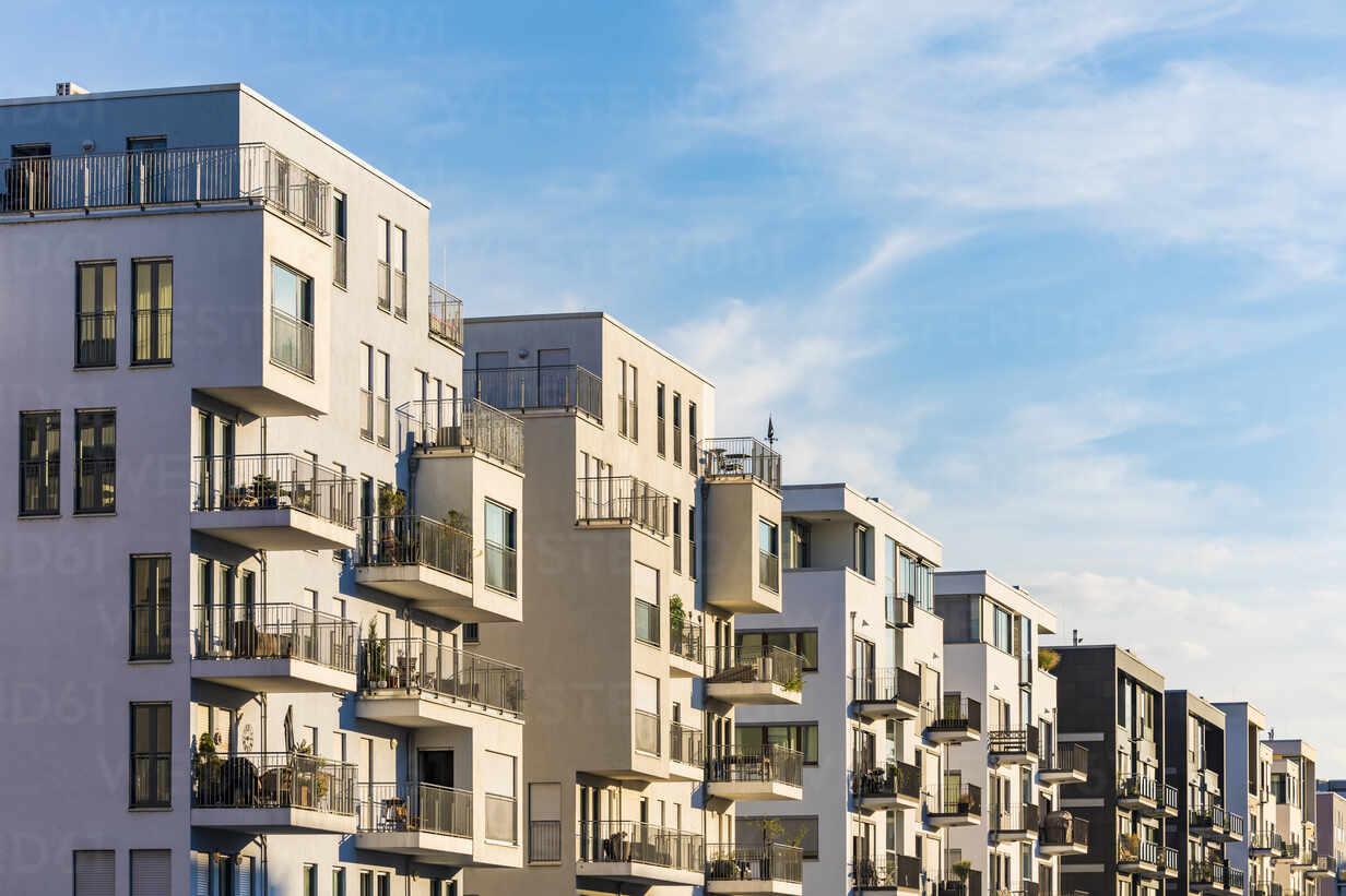 Exterior Of Residential Buildings Against Sky In Frankfurt Germany Wdf05421 Werner Dieterich Westend61