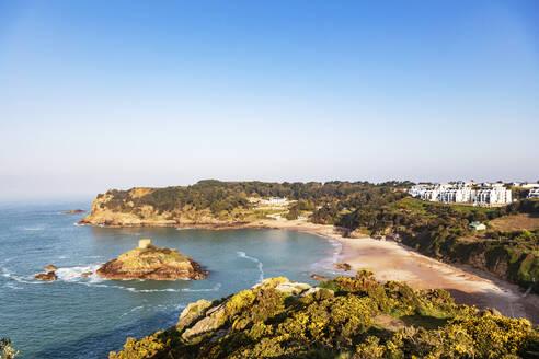 Portelet Bay, Jersey, Channel Islands, United Kingdom, Europe - RHPLF04941