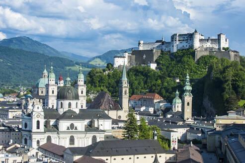 View over Salzburg, Austria, Europe - RHPLF05022