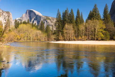 Half Dome, Yosemite National Park, UNESCO World Heritage Site, California, United States of America, North America - RHPLF06171