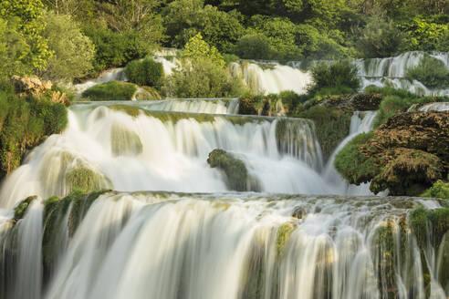 Skradinski Buk Waterfalls, Krka National Park, Dalmatia, Croatia, Europe - RHPLF06917