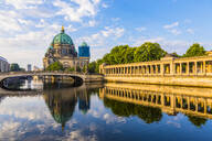 Berlin Cathedral by River Spree in Berlin, Germany, Europe - RHPLF06962