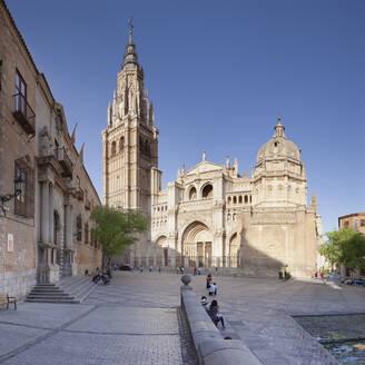 Santa Maria Cathedral, UNESCO World Heritage Site, Toledo, Castilla-La Mancha, Spain, Europe - RHPLF07443