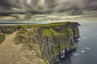 The Cliffs of Moher, near Lahinch, County Clare, Munster, Republic of Ireland, Europe - RHPLF08651