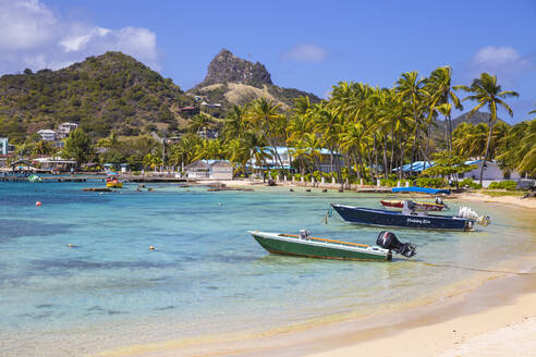 Clifton Harbour, Union Island, The Grenadines, St. Vincent and The Grenadines, West Indies, Caribbean, Central America - RHPLF09483