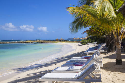 Big Sands beach at Belmont Bay, Union Island, The Grenadines, St. Vincent and The Grenadines, West Indies, Caribbean, Central America - RHPLF09492