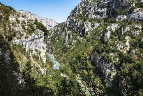 Verdon Gorge (Grand Canyon du Verdon), Alpes de Haute Provence, South of France, Europe - RHPLF09687