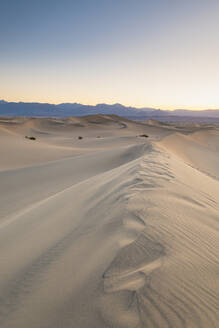 Mesquite flat sand dunes in Death Valley National Park, California, United States of America, North America - RHPLF10136