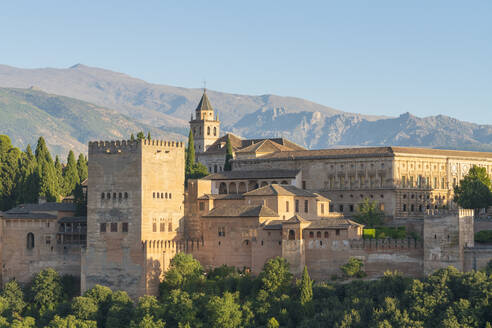 Alhambra palace in Granada, Spain, Europe - RHPLF10810