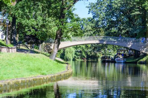 Pilsetas Canals, Riga, Latvia, Europe - RHPLF11243