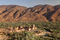 Ait Hamou ou Said Kasbah, Atlas Mountains, Draa Valley, Morocco, North Africa, Africa - RHPLF11342
