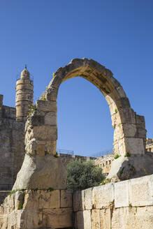 The Tower of David (the Jerusalem Citadel), Old City, UNESCO World Heritage Site, Jerusalem, Israel, Middle East - RHPLF11773