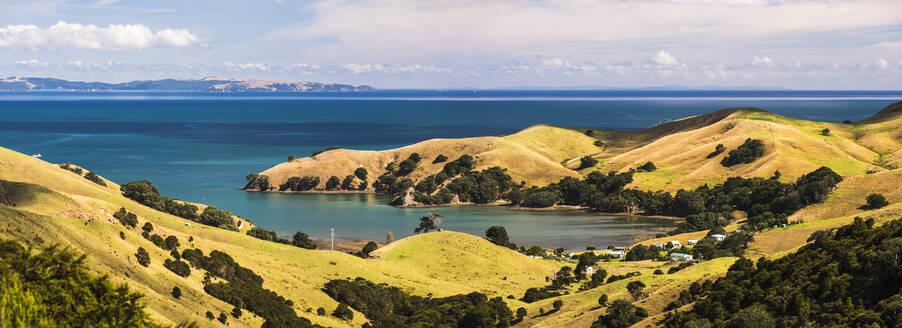 West Coast of Coromandel Peninsula, North Island, New Zealand, Pacific - RHPLF11785